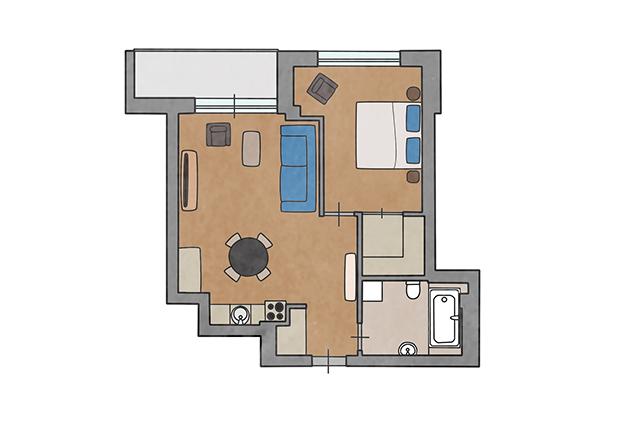 Apartamentai Ruduo