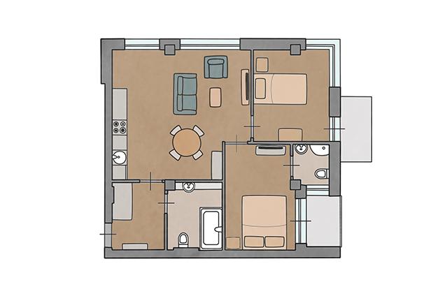Apartamentai Pavasaris