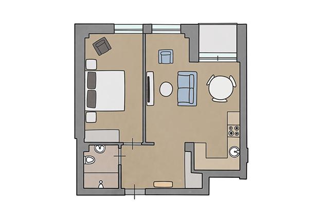 Apartment Winter